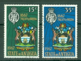 Antigua: 1967   300th Anniv Of Treaty Of Breda   Used - Antigua & Barbuda (...-1981)