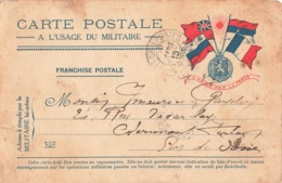 Carte Correspondance Franchise Militaire Secteur Postal 123 Mars 1915 - Marcophilie (Lettres)