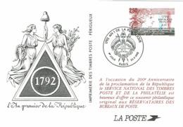 LCTN58/2 - CP AN 1 DE LA REPUBLIQUE - Franz. Revolution