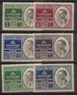 Jordan - 1953 - N°Yv. 274 à 279 - Série Complète - Neuf * / MH VF - Jordan