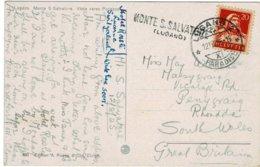 1925, Selt. L2 , Tessin!,   #2566 - Poststempel