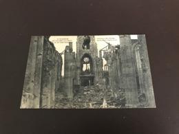 Avelgem - Avelghem - Binnenzicht Der Kerk Na De Beschieting  - Uitg. Gyselynck Kortrijk - Avelgem