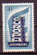 LUXEMBOURG - 1956 - Europa-SEPT - 4F ** - Europa-CEPT