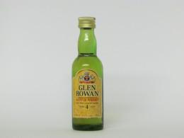 1 Mignonnette De Whisky GLEN ROWAN 4 YEARS OLD - Mignonnettes