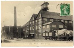 LENS - 62 - Mines Mineurs - Fosse N° 12 ( Saint Edouard ) - Wagons - Lens