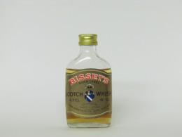 1 Mignonnette De Whisky BISSET'S GOLD LABEL - Mignonnettes