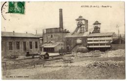 AUCHEL - 62 - Mines Mineurs - Fosse N° 5 - Chevalet - Wagon - Andere Gemeenten