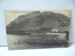 ENVIRONS DE MOIRANS 39 JURA FRANCHE CONTE  LAC D'ANTRE ROCHE D'ANTRE CPA 1922 - France