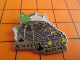 1519 Pin's Pins : BEAU ET RARE : Thème AUTOMOBILE / RENAULT CLIO 16S - Renault