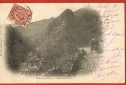Sainte-Engrâce- 64- Vallée De Ste-Engrâce- Route De Larrau-Attelage-original Cpa Dnd-coyagée 1903-scans Recto Verso - Frankreich