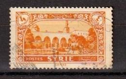Colonies Françaises - SYRIE -  1930 - Timbre Oblitéré N° YT 208 - Prix Fixe Cote 2015 à 15% - Gebraucht