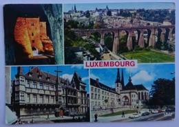 LUXEMBOURG - MULTIVIEW - Les Trois Tours, Vue Générale, Palais Grand Ducal, Cathédrale Notre-Dame  -- Vg - Non Classificati