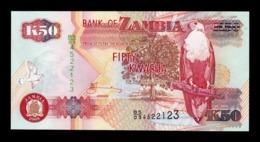 Zambia 50 Kwacha 2009 Pick 37h SC UNC - Zambia