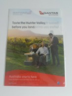 1 Pc. Of Qantas Airlines File Pocket Holder - Spirit Of Australia - Stationery
