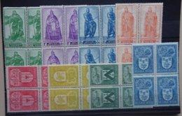 BELGIE   1947    Lotje  -5-      Blokken Van 4    Zie Foto    Postfris **   CW 73,00 - Belgique
