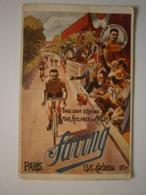 Publicité. Tous Sont D'accord Pour Acclamer Les Cycles Saving. En Médaillon, Poulain, Champion Du Monde (A6p82) - Radsport