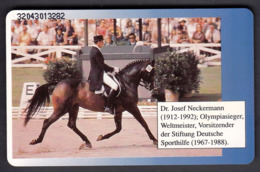 Germany 1992 / Olympic Games Tokio 1964 / Josef Neckermann,Gold Medal / Equestrian Dressage / Phonecard - Olympische Spiele
