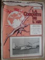 LA CONQUETE DE L'AIR 1932 N°1 -SABENA-CONGO-MINERVA-HISPANO-SUIZA-DONNET 4CV-AVIONS BELGES A HAREN - JUNKERS JU. 49 - AeroAirplanes