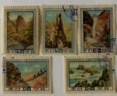 1960 KOREJA NORD Kumhan Used Stamps - Korea, North