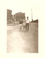 Photographie Ancienne Du Var, Promenade à Gassin (83), Cliché De 1960, Maison En Construction - Lugares