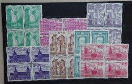 BELGIE  1962     Lotje - 13 -    Nr. 1205 - 1211    Blokken Van 4      Postfris **  CW 26,00 - Belgique