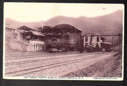 ± 1900 Netherlands Indies Train Station Tempat Tjuti Alang Di Sawah Lunto (21-19) - Indonésie