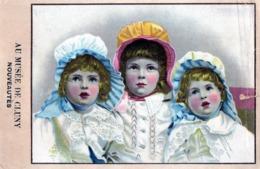 Grande Image -  Grands Magasins Du MUSEE  DE  CLUNY - PARIS -   3 Enfants - Autres