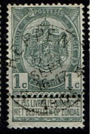 53  Obl Relais  Heppen   + 15 - 1893-1907 Coat Of Arms