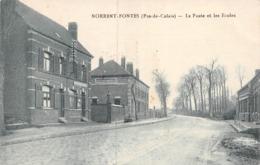 A - 19 - 166 - NORRENT FONTES  - LA POSTE ET LES ECOLES  - DESAIX - Other Municipalities