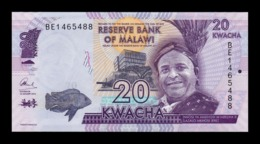 Malawi 20 Kwacha M'Mbelwa II 2016 Pick 63c SC UNC - Malawi
