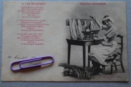 VIEILLES CHANSONS : La Boulangère En 1902 - Unterhaltung