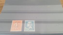 LOT 478045 TIMBRE DE FRANCE NEUF* N°264/265 - France
