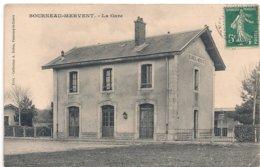Cpa 85 Bourneau-Mervent La Gare - Francia