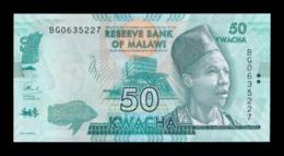 Malawi 50 Kwacha 2017 Pick 64d SC UNC - Malawi