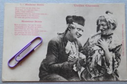 VIEILLES CHANSONS : Madame DENIS En 1902 - Unterhaltung