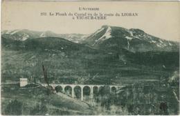 63 Vic Sur Cere    Le Plomb Du Cantal  Vus De La Route  Du Lioran A Vic Sur Cere - Autres Communes