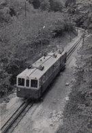 Stansstad-Engelberg Bahn ? To Be Identified. Photo 12 X 8 Cm, No Postcard. - NW Nidwald