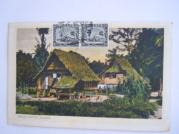 Malaya Malaisie Malay Native Houses Used 1936 Stamp Selangor 1c Yv 29 - Malaysia