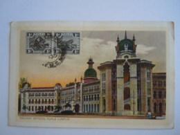 Malay Malaya Malaisie Railway Offices  Kuala Lumpur Used 1935 Stamp Tiger 1 C Yv 51 - Malesia