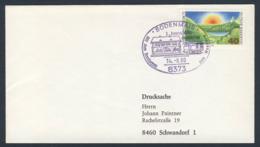 Deutschland Germany 1980 Brief Cover - Mit Sonderzug Zum Wandern - 3. Int. Volks-wandertag, Bodenmais / Folk Hiking Day - Treinen
