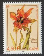 France Neuf Sans Charnière 2000 Flore Fleur Tulipe    YT 3335 - Neufs