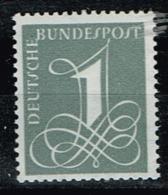 Bund 1958, Michel# 285 Y ** - Ongebruikt
