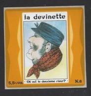 Etiquette De Bière   -  La Devinette  - Brasserie Des Vosges  à  Saint Etienne Remiremont  (88) - Bier