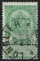 56  Obl Relais  Longlier  + 15 - 1893-1907 Coat Of Arms