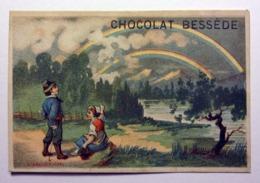 CHROMO...CHOCOLAT BESSEDE.........LITH.COURBE ROUZET.........L'ARC EN CIEL - Altri