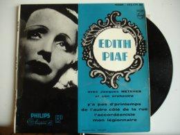 Edith Piaf  Lot 3 Disque Vinyle 45 Tours 45T Y A Pas Printemps Vie En Rose C Est 1 Homme Terrible - 45 T - Maxi-Single