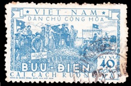 Vietnam Official 1955 Michel # 6, Cancel NH, - Vietnam