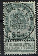 53  Obl Relais  Melsele  + 30 - 1893-1907 Coat Of Arms