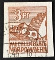 1946 Mecklenburg-Vorpommern : Abschiedsserie  Mi. 29xa - Sowjetische Zone (SBZ)