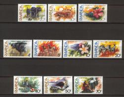 Rwanda 1982 Environment - Animlas - Flowers MNH (R0455) - Briefmarken